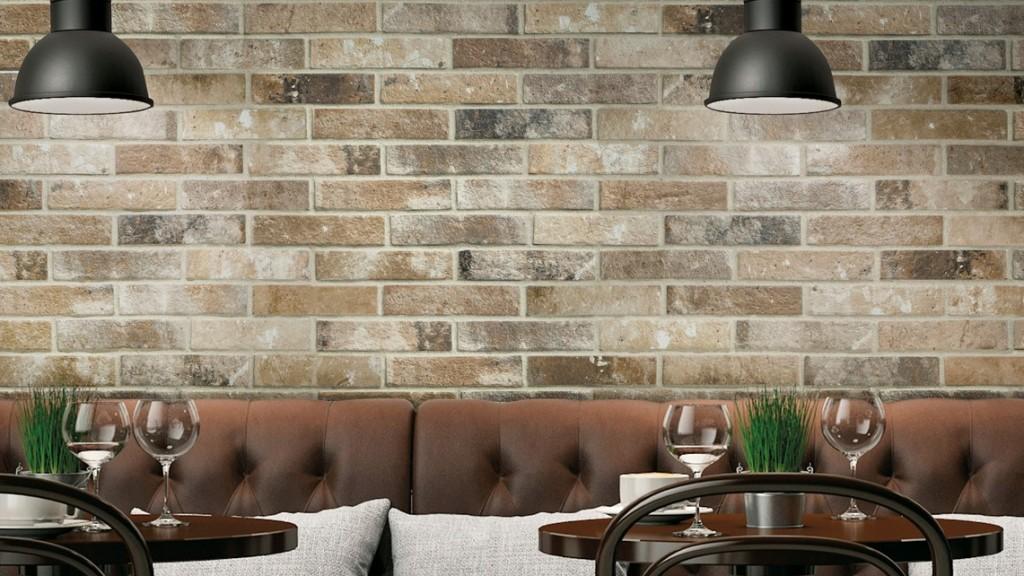 Rivestimenti in gres per il contract brick generation di for Ceramica rondine