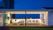Padiglioni modulari smontabili per una terrazza a Saragozza da Magén Arquitectos