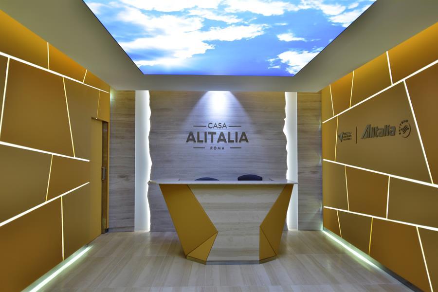 Casa Alitalia a Fiumicino - Foto: Fabrizio Della Schiava