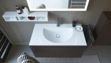 Duravit presenta la tecnologia c-bonded: lavabo e mobile in un'unica unità