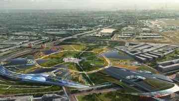 Come sarà Europa City, la città del futuro progettata da Bjarke Ingels Group