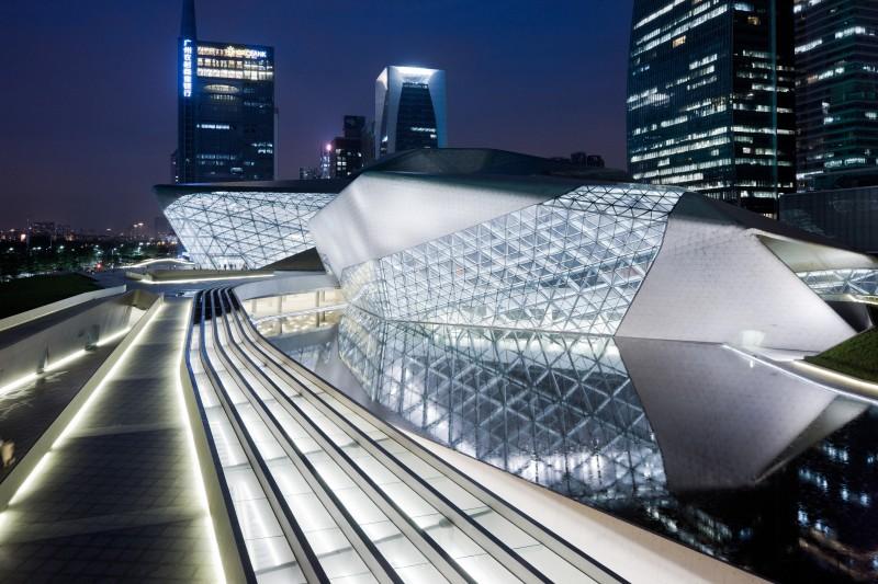 ZHA Guangzhou Opera House_©Iwan Baan