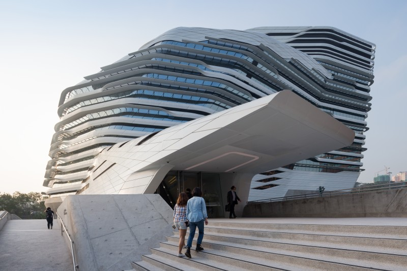 ZHA_Jockey Club Innovation Tower_©Iwan Baan