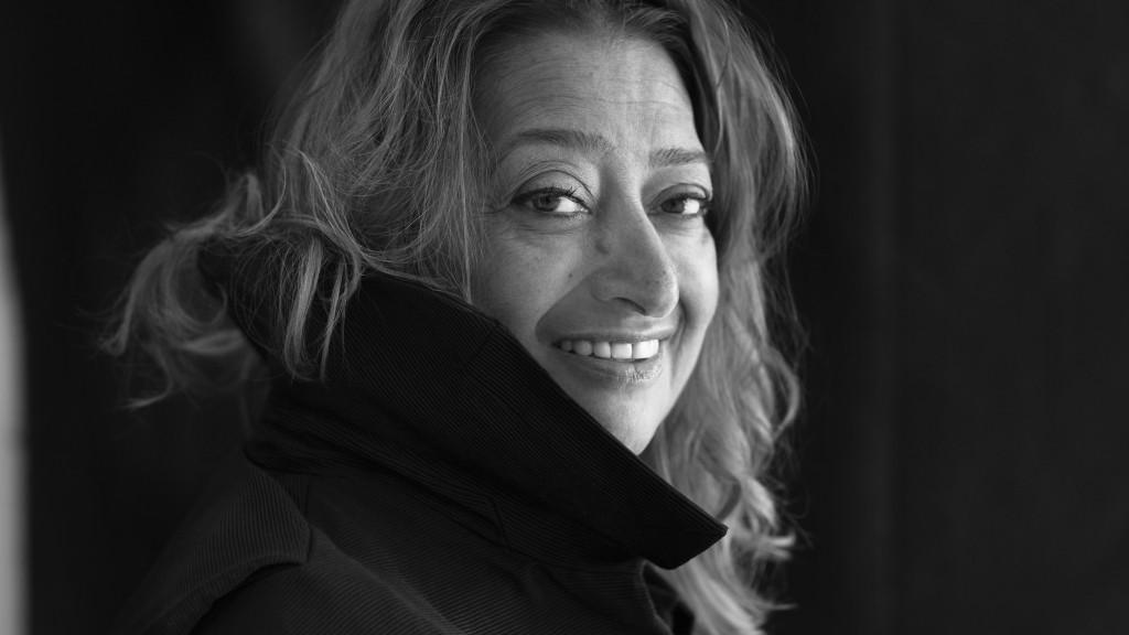Zaha Hadid © Brigitte Lacombe