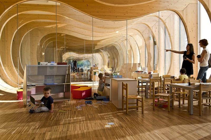 L'asilo di Guastalla progettato da Mario Cucinella Architects (foto: Moreno Maggi)