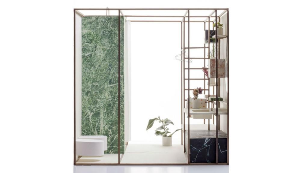 Assez Un bagno minimo in 6 mq: il progetto di studio wok | Architetto.info XD88