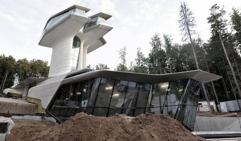 Capital Hill in costruzione - foto: Zaha Hadid Architects