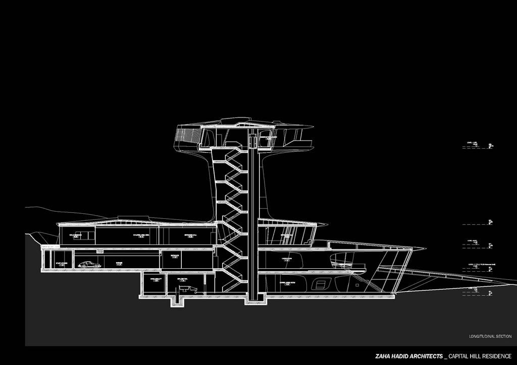 Sezione  - foto: zaha hadid architects