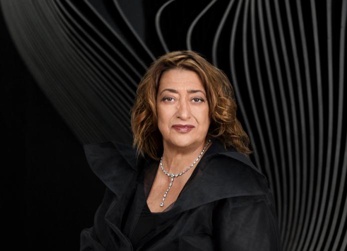 Zaha Hadid by Mary McCartney