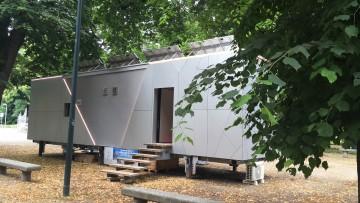 Biosphera 2.0, è a Milano il modulo itinerante sostenibile