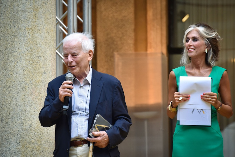 Carlo Bartoli riceve il Compasso d'Oro alla Carriera 2016