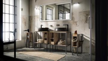 L'arredo bagno è versatile e funzionale con Play di Cerasa