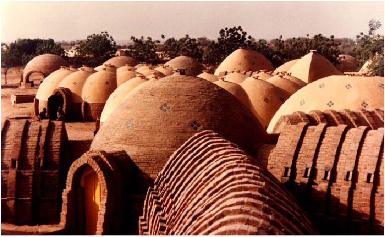 Vista di insieme dell'Ospedale di Kaedì (Mali)