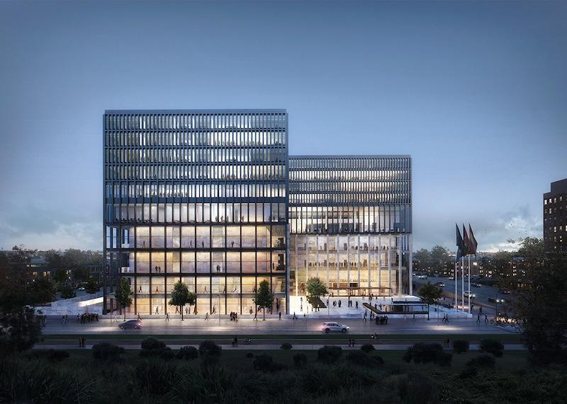 New Amsterdam Courthouse © KAAN Architecten
