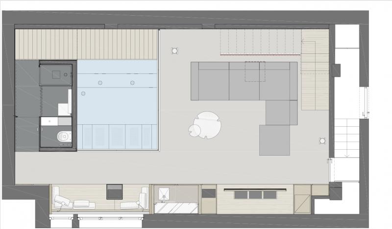 Casa Luna, Piano 1 (Buratti Architetti)