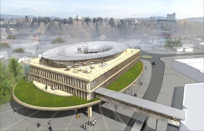 Come apparirà la futura sede di Team 7 in Austria © Didier Ghislain