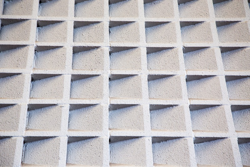 Cement acoustic wall