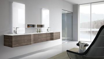 L'arredo bagno con Hafro-Geromin diventa total living bathroom