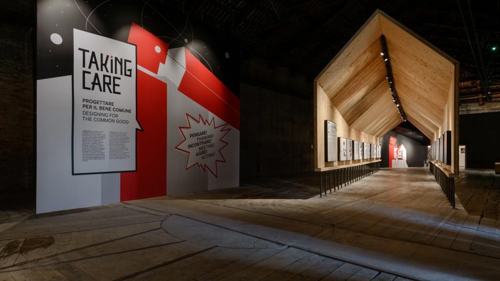 Taking Care, il padiglione italiano per la Biennale di Venezia 2016, progettato da Tamassociati (copyright: Andrea Avezzù)