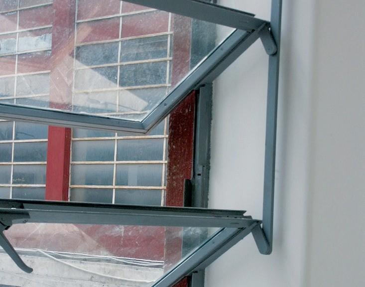 Serramenti restaurati con nuovi vetri, particolare (Foto Direzione Regionale Beni e Attività Culturali del Lazio)