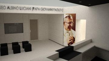 Apre il Museo Albino Luciani: l'allestimento di Marino Baldin