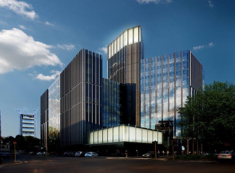 Il futuro Pharo Business Center a Milano © Park Associati