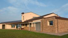 La villa di Nazzareno Petrini ispirata alle case coloniche