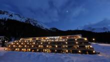 Pavimentazioni e rivestimenti in pietra: l'ardesia dell'Hotel Alpine Rock in Svizzera