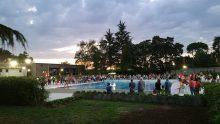 La piscina di Garbagnate Milanese ristrutturata in meno di un mese