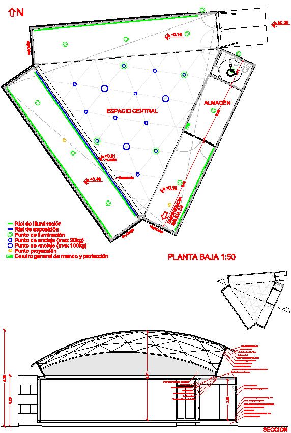 elnodo_planimetria e sezione