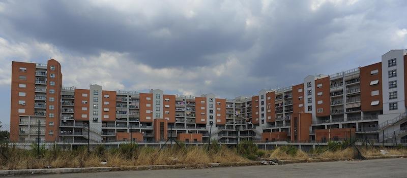 Il quartiere Toscanini ad Aprilia (Latina)
