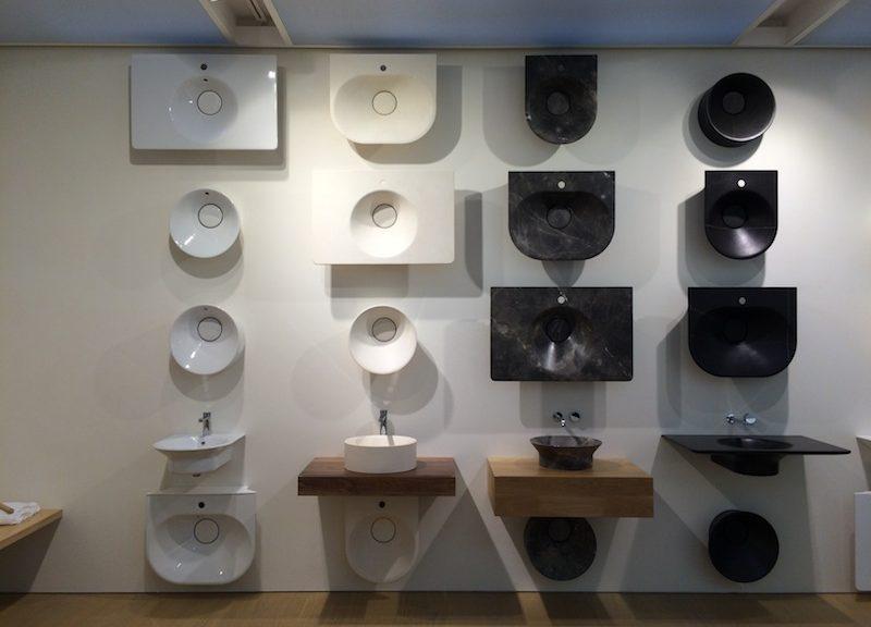 Lavabi 'Tono', Norman Foster per Noken, gruppo Porcelanosa © Diletta Bracchini