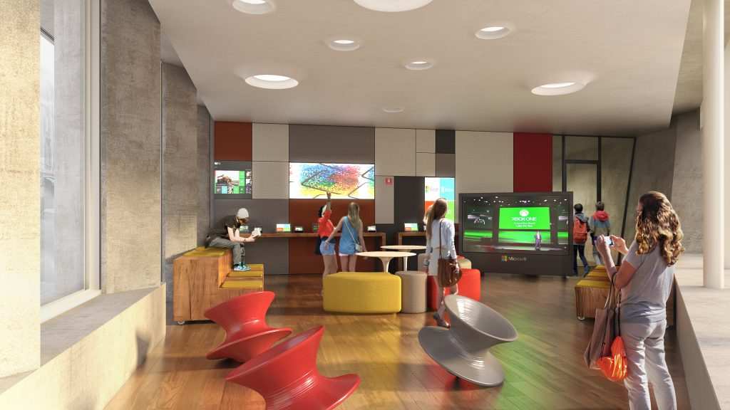 La sede milanese di Microsoft Italia progettata da DEGW
