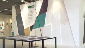 A Cersaie 2016 Oikos presenta le sue ecosoluzioni cromomateriche