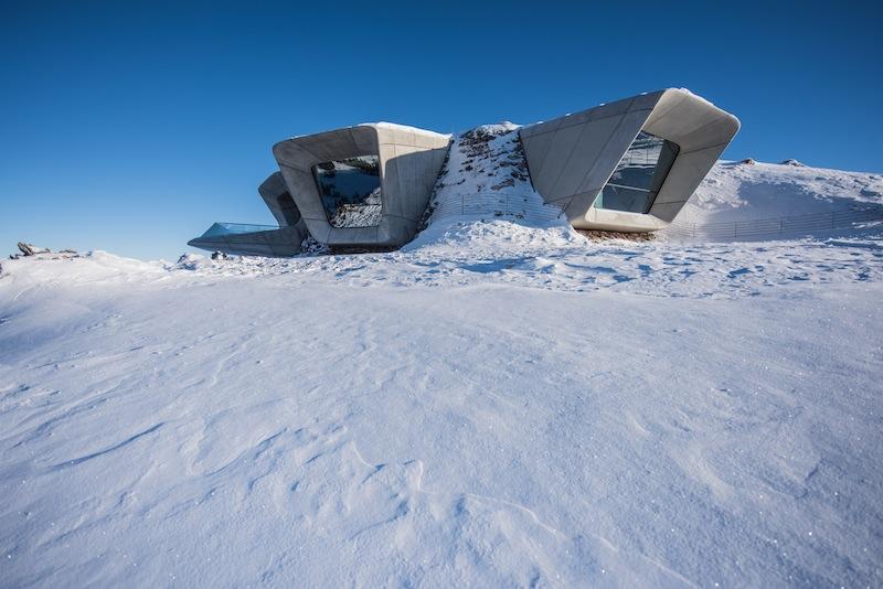 Il Messner Mountain Museum Corones, premio speciale fuori concorso ai Casaclima Awards 2016. © Kronplats – foto:  Harald Wisthaler
