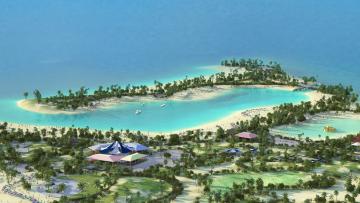 Riqualificare un'isola ai Caraibi: il progetto Ocean Cay
