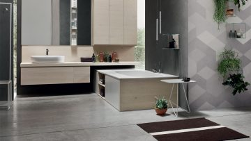 Arredo bagno: Arcom sceglie il legno e lo stile nordico per la linea Soul