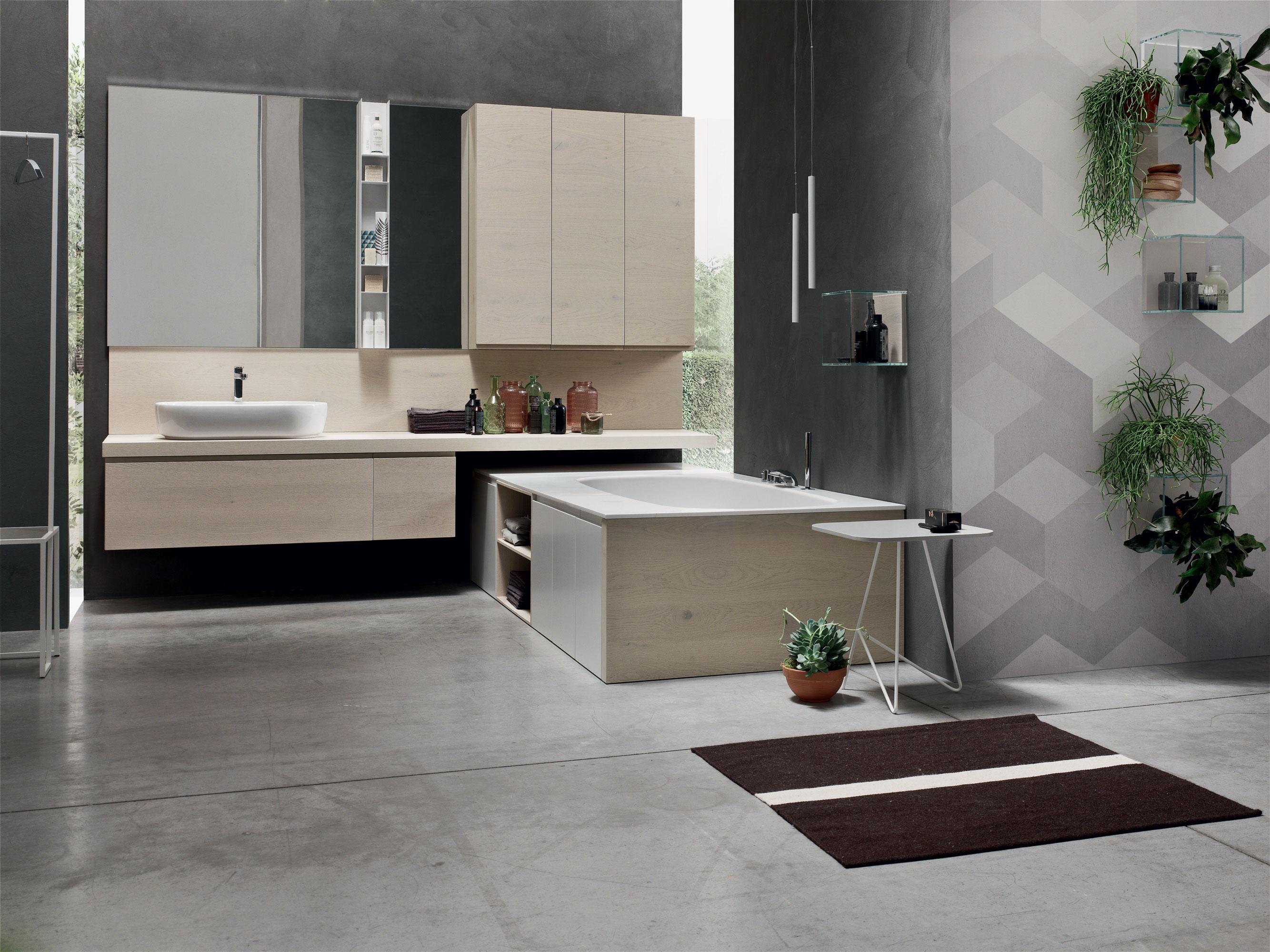Arredo bagno arcom sceglie il legno e lo stile nordico - Arredo bagno piacenza e provincia ...