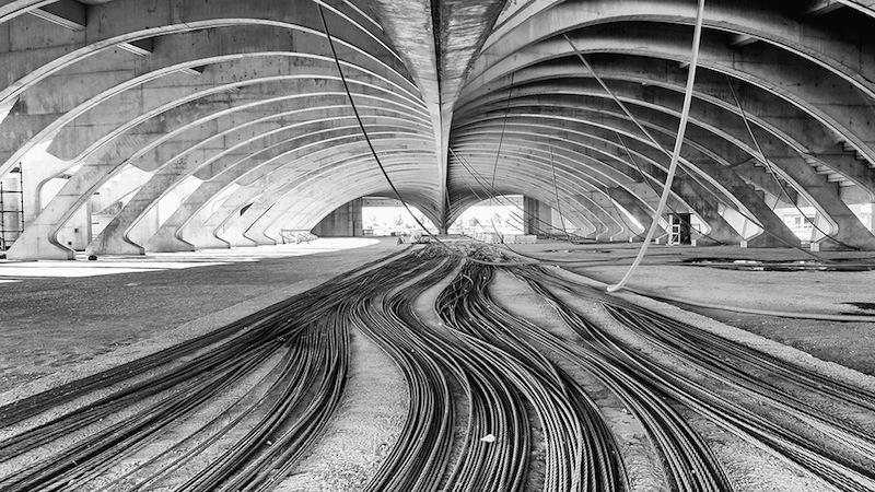 Città dello Sport di Tor Vergata, progetto incompiuto di Santiago Calatrava © Carmelo Battaglia