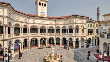 Il centro commerciale che ricostruisce l'Italia in Cina