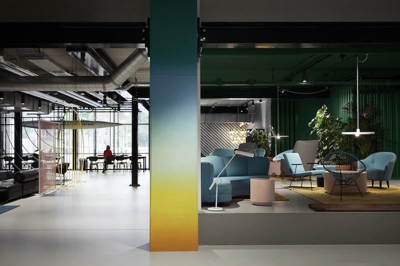 L'esempio di The Student Hotel ad Amsterdam City © Kasia Gatkowska Photography