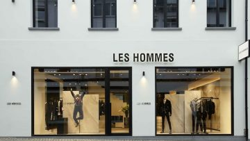 Piuarch firma lo store Les Hommes ad Anversa