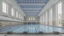 Una piscina d'epoca nazista a Berlino è stata rifunzionalizzata