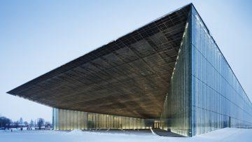 Il museo nazionale dell'Estonia ricavato in un'ex base militare sovietica