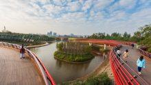 Architettura del paesaggio: lo Yanweizhou Park in Cina