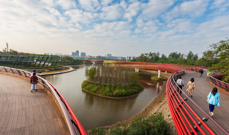 Yanweizhou Park in Cina © Turenscape