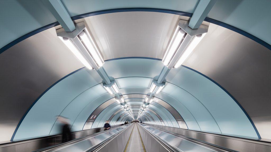 Alucobond®. Russia, St. Petersburg. Stazione della metropolitana. Progetto LenMetroGiproTrans