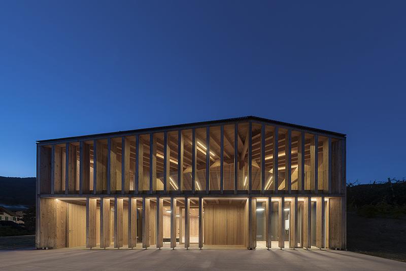 Casa Sociale Caltron a Cles (Trento), progetto di Mirko Franzoso - (C) Mariano Dallago, Torino