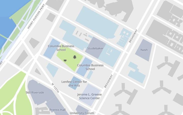 mappa manhattanville