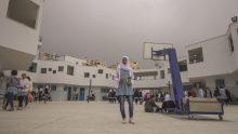 La Scuola per ragazze di Shu'fat, campo profughi palestinese a Gerusalemme